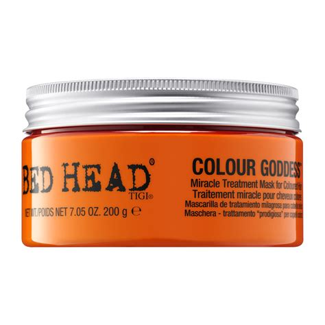 bed head color goddess tigi bed head colour goddess miracle treatment mask 200g