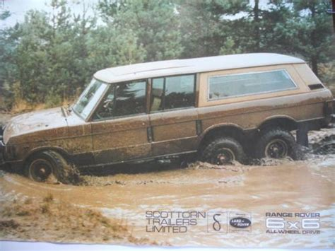 range rover 6x6 for sale range rover 6x6 all wheel drive publicity poster ebay