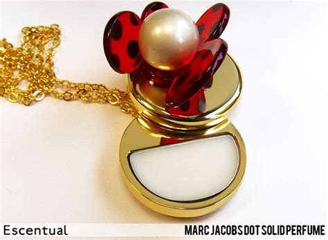 Parfum Solid Shop marc dot solid perfume necklace escentual s buzz