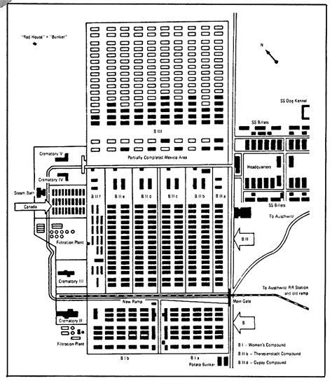 auschwitz diagram the illustrated auschwitz lie