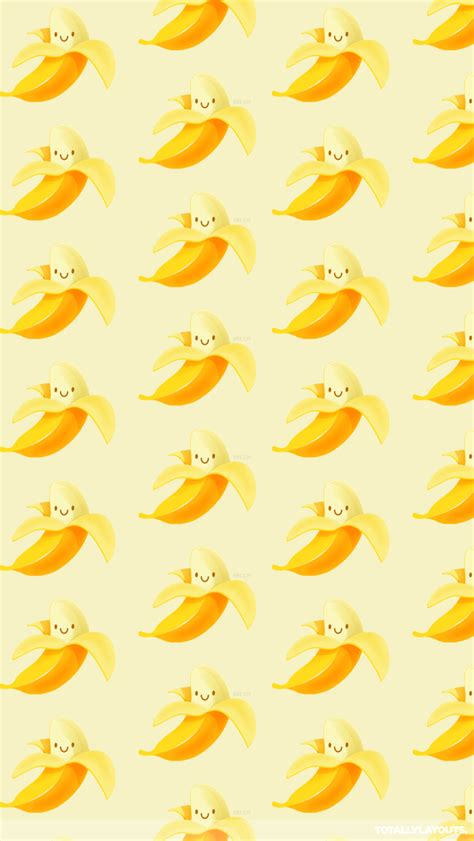 bananas phone wallpaper cute banana android wallpaper