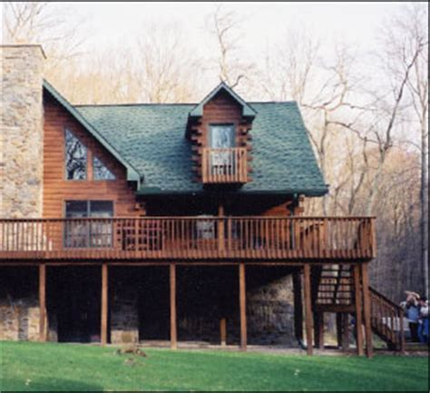 the cape shed lantz modular log homes the erie lantz modular log homes