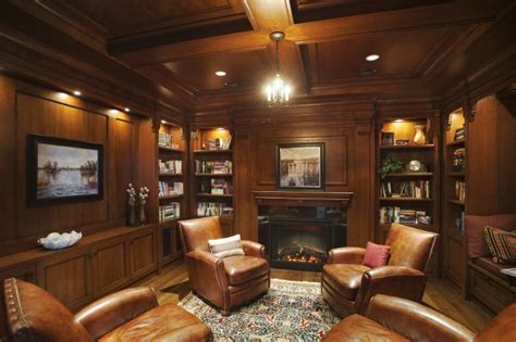 Wood Paneling Living Room Decorating Ideas by 20 Comfortable Living Rooms With Sleek Wooden Walls