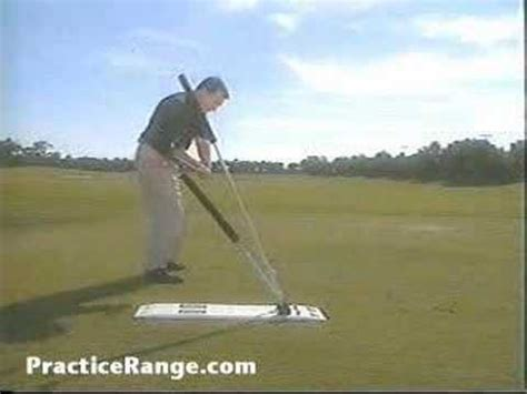 best golf swing plane trainer plane stick golf swing plane training aid youtube