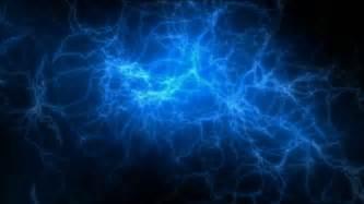 Lightning Blue Blue Lightning Magnetic Field Negative Oxygen Ions Stock
