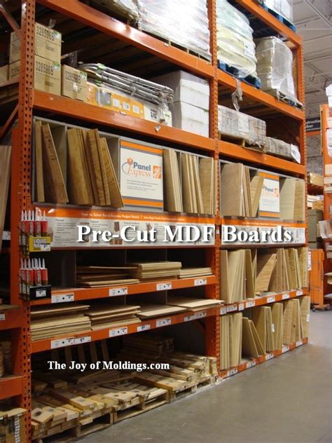 mdf wood home depot mdf board