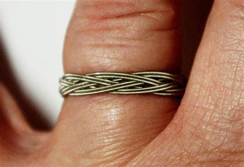 String Projects - how to make a guitar string ring diy projects craft ideas