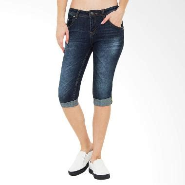 Celana Denim Medium Biru Slim Fit jual s denim quantico ru 3 4 slim fit celana