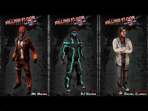 killing floor end of the line summer content dlc characters youtube