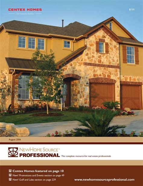 new home source professional monthly real estate catalog