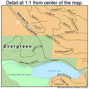 evergreen colorado map evergreen colorado map 0825390