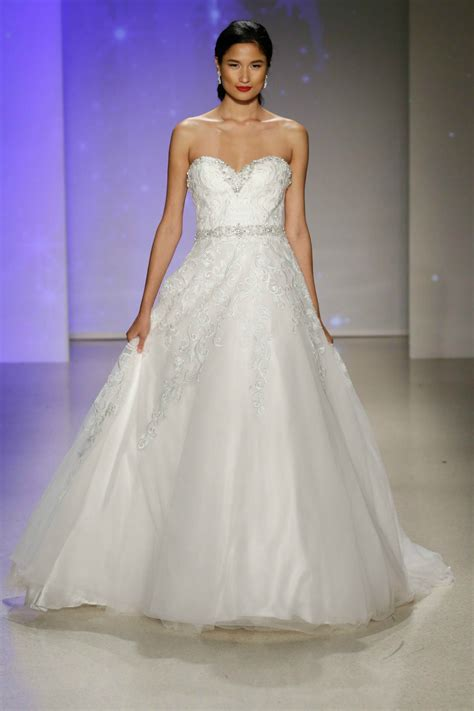 the disney bridal collection 2017 is the stuff of dreams