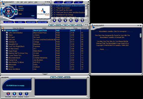 musicmatch apk los mejores reproductores de m 250 sica gratis para pc taringa