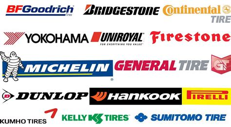 Car Tyres Names by Alle Car Brands Logo Studio Design Gallery Best Design