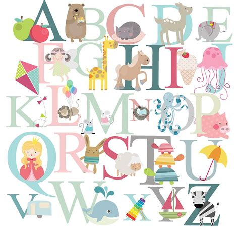 Letter Stickers alphabet fabric wall stickers by littleprints