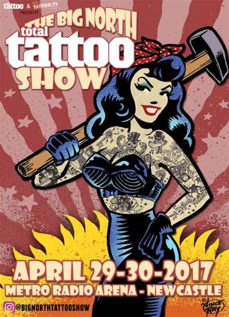 tattoo convention newcastle big north tattoo show metro radio arena