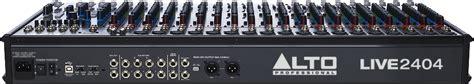 Mixer Alto Live 2404 alto professional live 2404 559 00 espace claviers