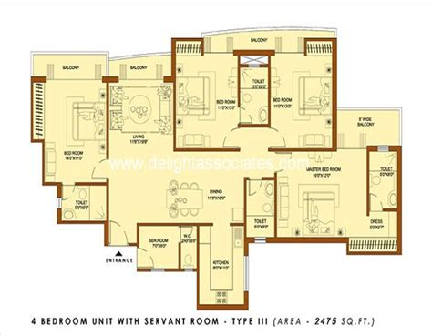 q1 4 bedroom apartment 4 bhk apartments in sector 119 noida delight associates