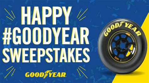 Social Media Sweepstakes - goodyear celebrates the new year with social media sweepstakes tires parts news