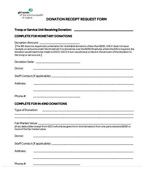 school donation receipt template 37 sle receipt forms in pdf sle templates