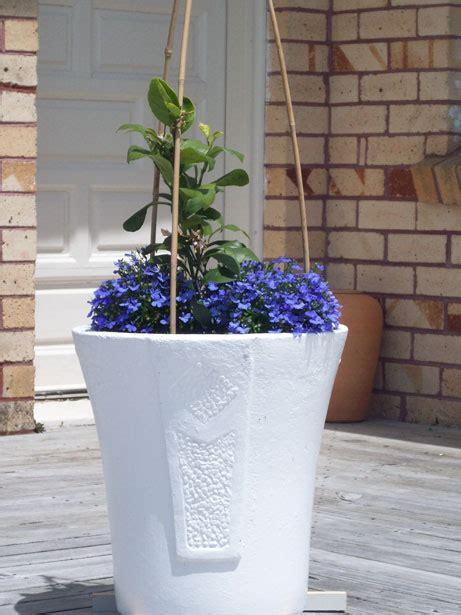 White Garden Pots Large White Garden Pot Free Stock Photo Domain
