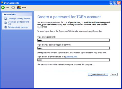 membuat wordpress xp membuat user baru dan menghapus user pada windows xp