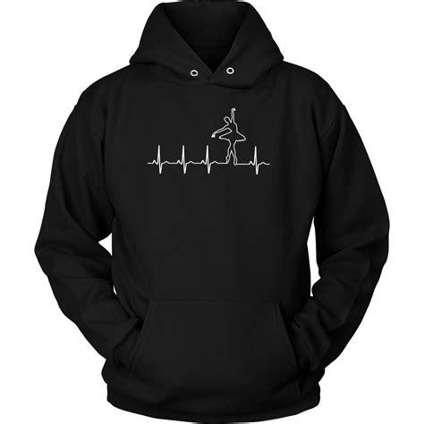 hoodie t ballet heart beat t shirt hoodies tank top