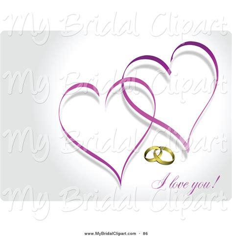 Purple valentine hearts and two purple hearts