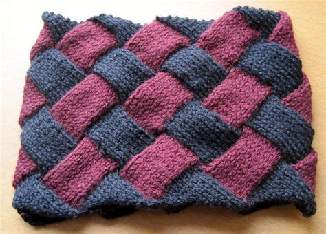 knitting pattern visualizer you have to see 1st entrelac neck warmer by gutlin