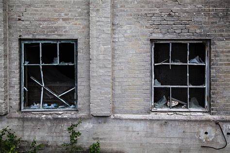 broken windows destruction factory  photo  pixabay