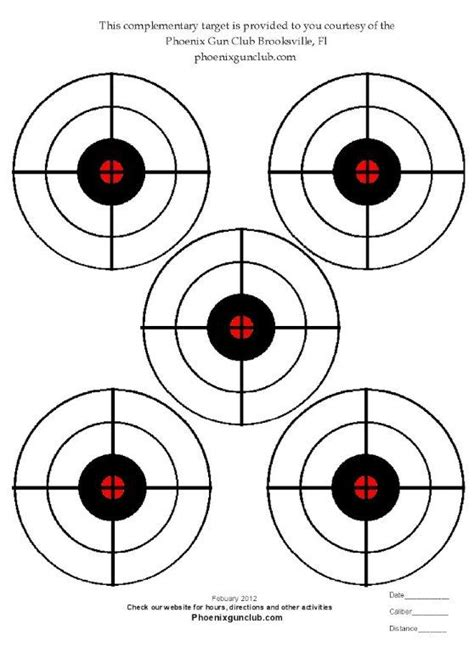 printable targets 8 5 x 11 8 5x11 printable targets pictures to pin on pinterest