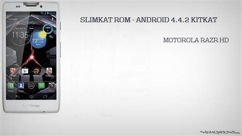 android 4 4 2 update slimkat gets android 4 4 2 update kitkat to verizon droid razr hd xt926 and motorola razr hd