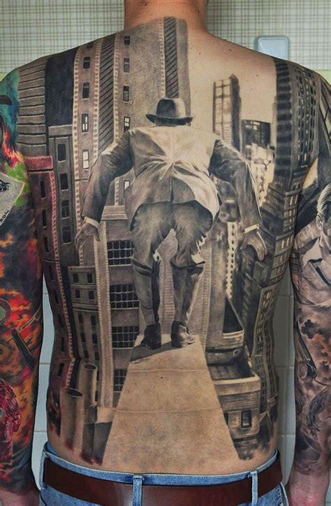 25 optical illusion tattoos that will melt your brain