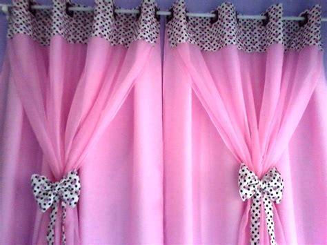 cortinas rosas cortina rosa e marrom la 199 os xod 243 da vov 243 bordados elo7