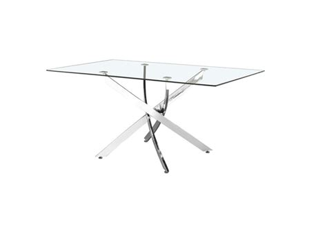 Superstyle Sofa Chrome Polished Victor Dining Table