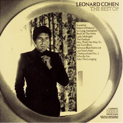 the best of leonard cohen leonard cohen the best of leonard cohen album cover parodies