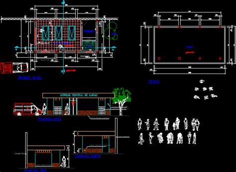 morgue center  dwg block  autocad designs cad