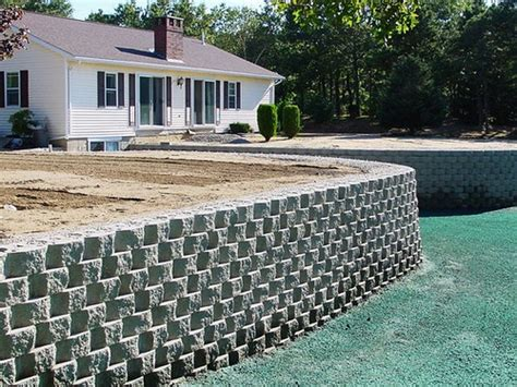 Retaining Wall System Retaining Wall Blocks Stone Mason Garden Retaining Wall Systems