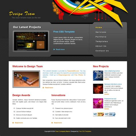 Web Design Free Html Website Templates Net Web Templates