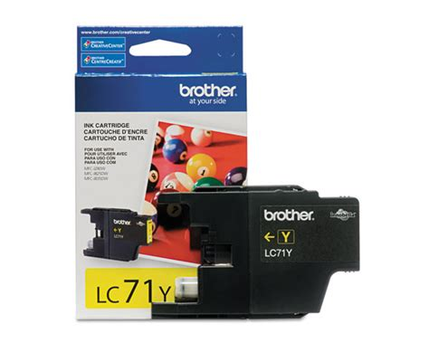Cartridge Printer Mfc J430w mfc j430w yellow ink cartridge made by 300 pages