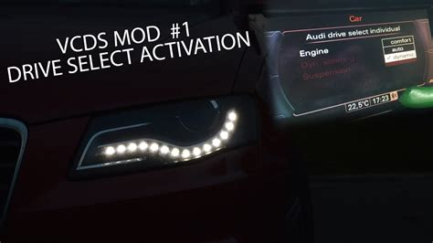 Audi Drive Select A4 by Vcds Mod Audi A4 B8 Drive Select Activation