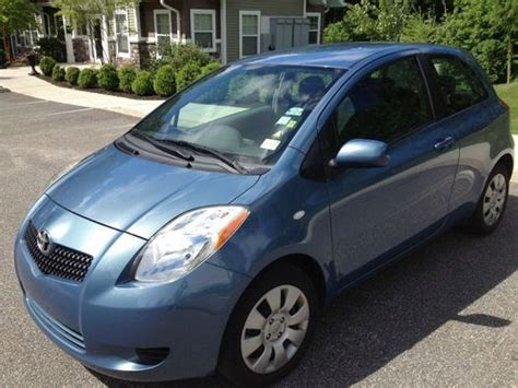 Toyota Brookfield Ct Sell Used 2007 Toyota Yaris Hatchback Mint 40mpg 5spd