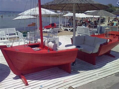 boat sofas sofa boat that s neat maybe a sail could be made into