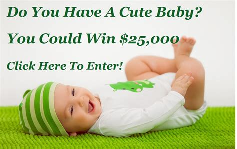 Baby Sweepstake - the 2014 gerber baby contest has started the cute baby contest