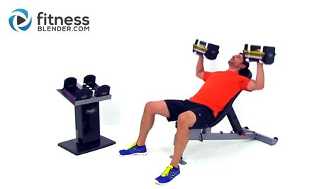 chest and back superset workout at home dumbbell workout