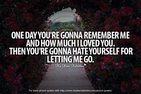 the one you love quotes about letting go