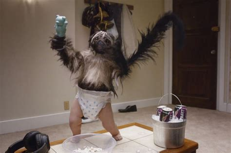 puppy monkey baby meme brandchannel bowl mtn dew goes for trifecta with puppymonkeybaby