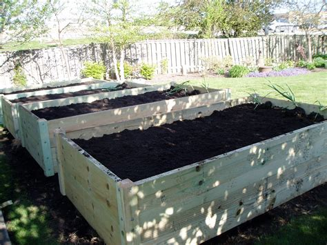 One 3x8x33 Quot Tall Raised Bed Gardens