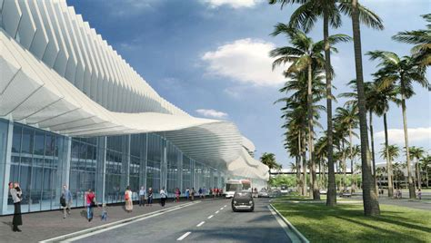 home design miami convention center miami ahead with redesigned convention center by fentress architects
