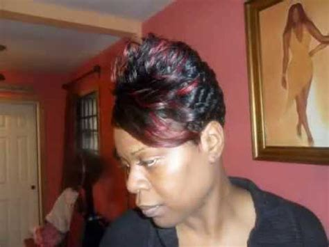 percision natural hair cut salon new york sophisticated precision short haircuts l black women short